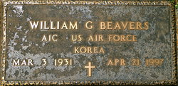 William G Beavers