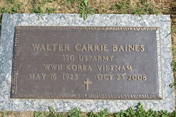Walter Carrie Baines