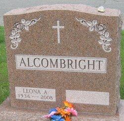 Leona A. <I>O'Dell</I> Alcombright