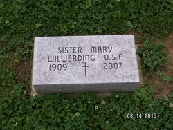 Sr Mary Wilwerding