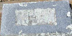Mattie Jane <I>Sibley</I> Burris