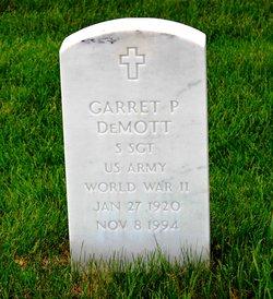 Garret P Demott