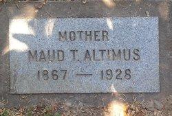 "Maud Trussie ""Susie"" <I>Wilcox</I> Altimus"