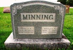 Ernest A Minning