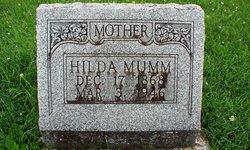 Hilda <I>Holt</I> Mumm