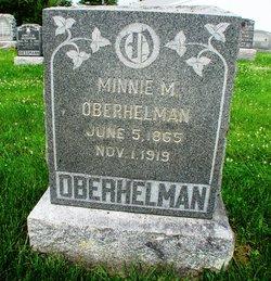 Minnie M Oberhelman