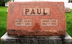 Minnie Lena <I>Schmidt</I> Paul