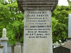 Sgt James Burnett