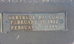 Gertrude <I>Baucom</I> Betts
