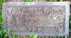 Katherine <I>McNeill</I> Abney