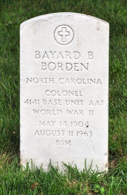 Bayard B Borden