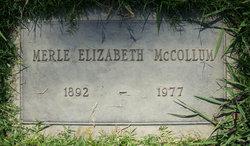 Merle Elizabeth McCollum
