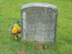 Pauline <I>Taylor</I> Abernathy