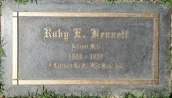 Ruby Dale <I>Evans</I> Bennett