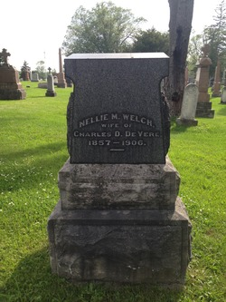 Nellie M <I>Welch</I> De Vere