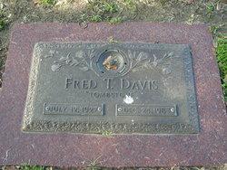 """Fred Thomas """"Tombstone"""" Davis"""