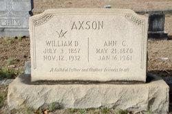 Ann Cornelia <I>Crim</I> Axson