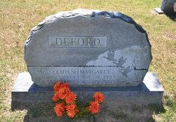 "Margaret E. ""Peggy"" <I>Lindsay</I> Deford"