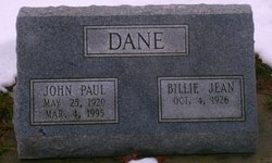 "Billie Jean ""Betty"" <I>Watkins</I> Dane"
