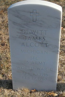Dewitt James Alcott