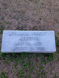 William Wright Abbot, III