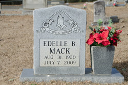 Edelle <I>Fogle</I> Mack