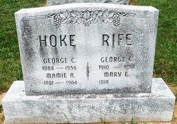 Mamie A. Hoke