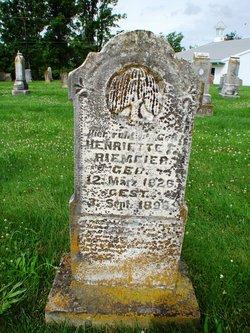 Henriette F Riemeier