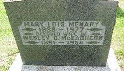 Mary Lois <I>Menary</I> McEachern