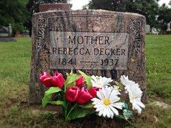 Rebecca Jane <I>Baughman</I> Decker