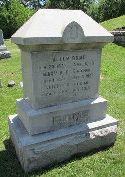 Mary A <I>Coe</I> Bowe