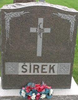 "Frantisek Albert Jakub ""Frank"" Sirek"