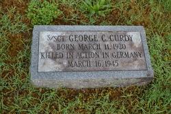 Sgt George Carroll Curdy