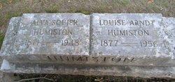 Louise <I>Arndt</I> Humiston
