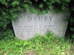 Dr Ralph H. Drury