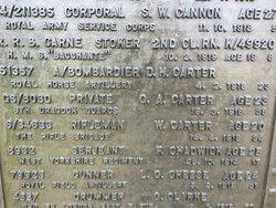 Private George Albert Carter