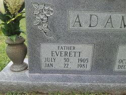 """Everett B. """"Shortie"""" Adams"""
