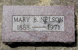 Mary B <I>Nelson</I> Nelson