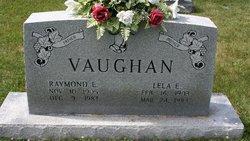 Lela <I>Chapman</I> Vaughan