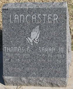 Thomas G. Lancaster