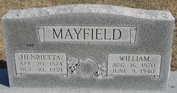 Henrietta Mayfield