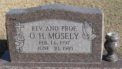 Rev O. H. Mosely