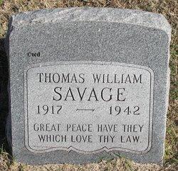 Thomas William Savage