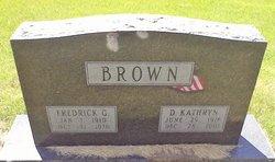 Frederick George Brown
