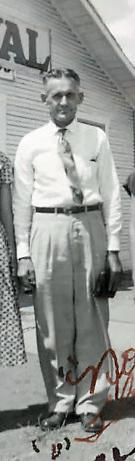 Rev Alfred Vernon Qualls