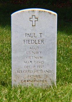Paul T Fiedler