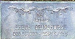 Phebe <I>Brown</I> Bringhurst