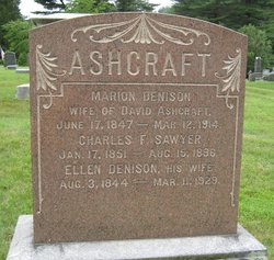 Marion <I>Denison</I> Ashcraft