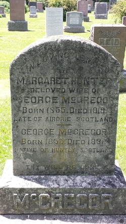 Margaret <I>Hunter</I> McGregor