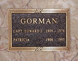 Olive Patricia <I>Reagan</I> Gorman